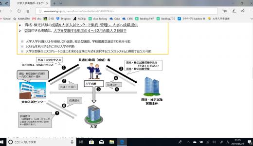 20190827 文部科学省 大学入試英語ポータルサイト開設